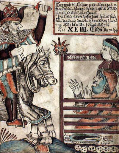 Deus Hermod na Mitologia Nórdica
