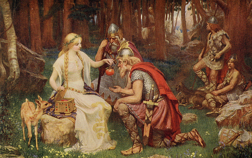 Deusa Idun na Mitologia Nórdica