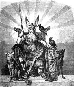Os corvos de Odin