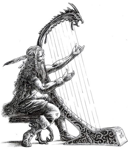 Bragi - Deus da Poesia na Mitologia Nórdica