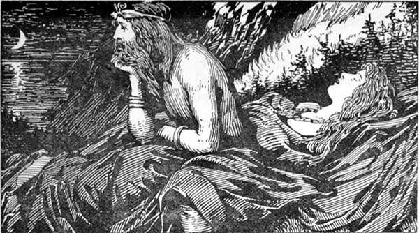 Deus Njord na Mitologia Nórdica