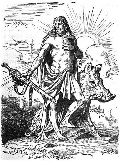 Deus Freyr na Mitologia Nórdica