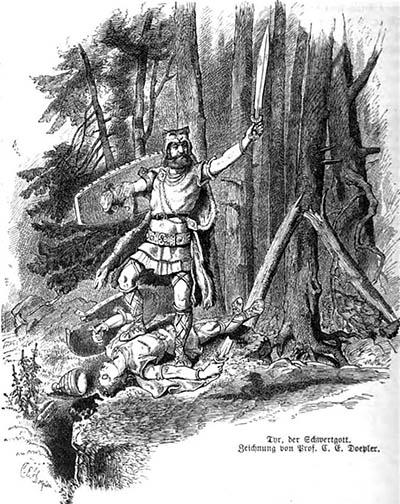 Tyr o Deus Nórdico da Guerra