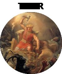 Deus Thor na Mitologia Nórdica