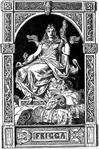 Deusa Frigga na Mitologia Nórdica