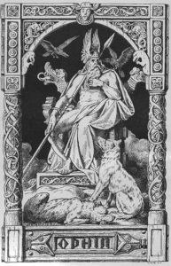 Os lobos de Odin