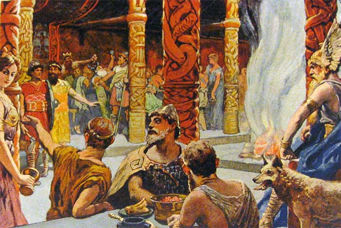 Valhalla na Mitologia Nórdica