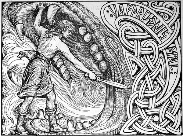 Vidar o Filho de Odin na Mitologia Nórdica